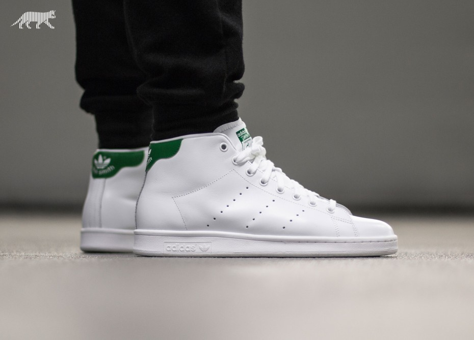 adidas stan smith mid homme